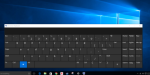 On Screen Keyboard